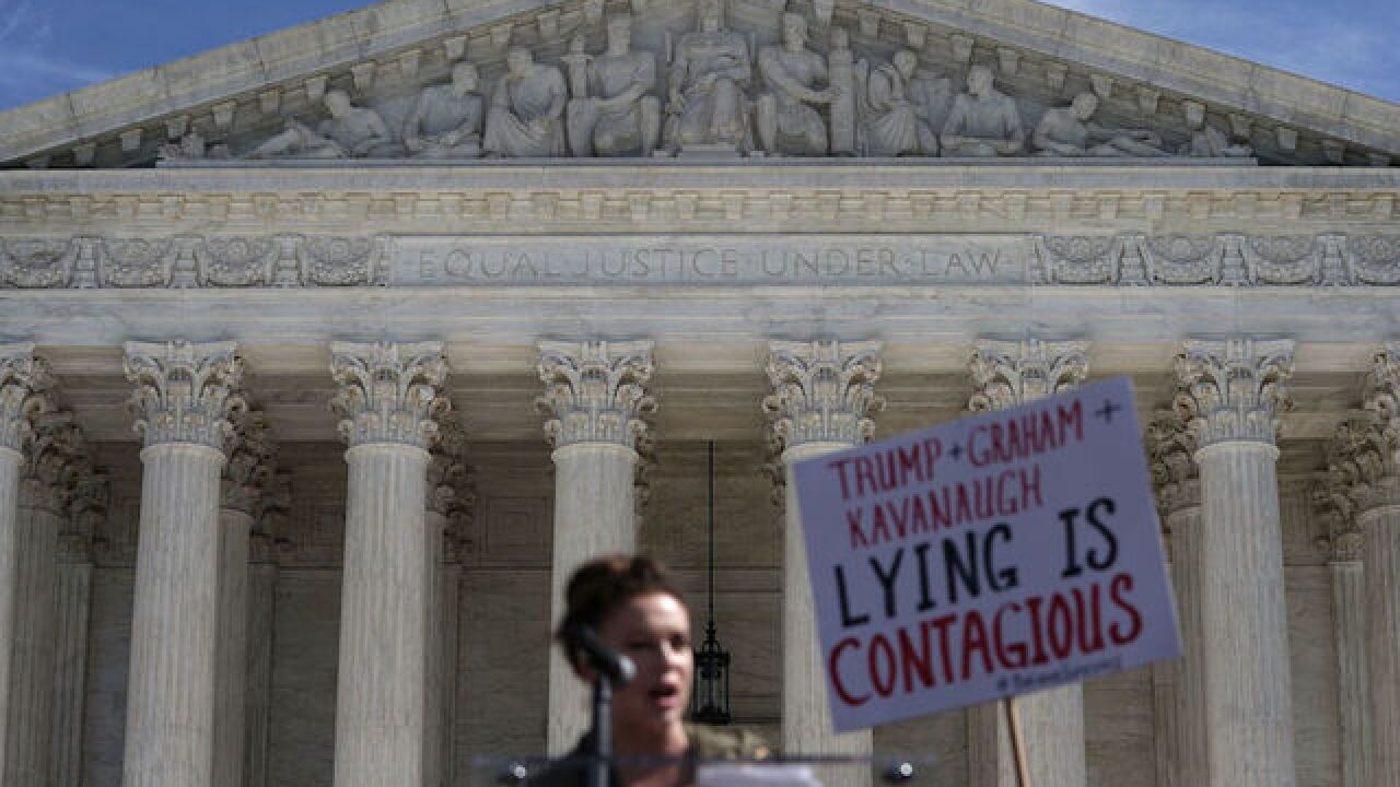 Supreme Court begins new term in shadow of Kavanaugh fight