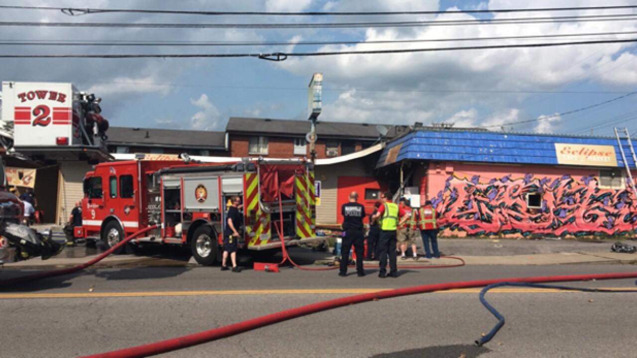 Fire Damages Eclipse Cafe In Nashville