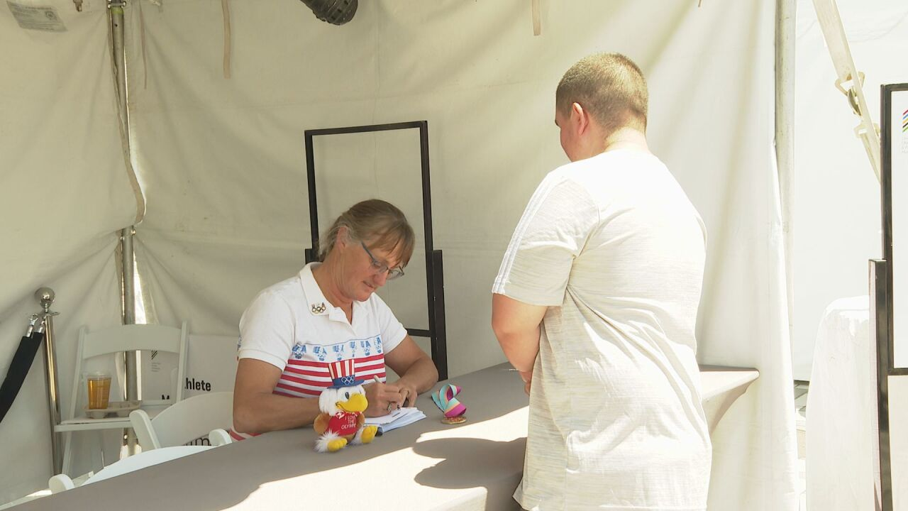 Olympian autograph session
