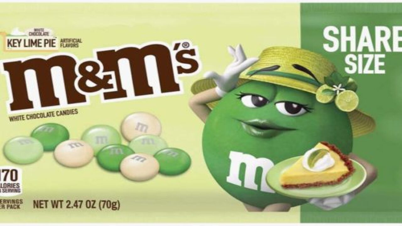 M&M's Is Releasing A White Chocolate Key Lime Pie Flavor