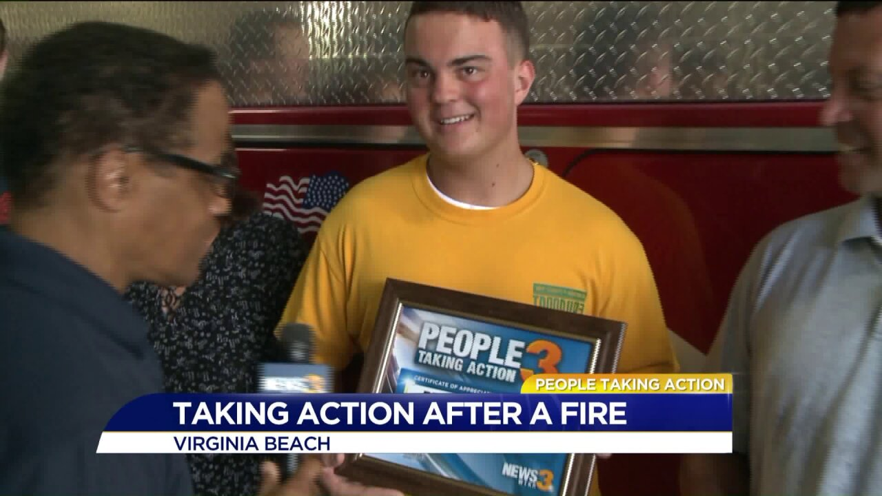 People Taking Action: Local takes action for victims of housefires