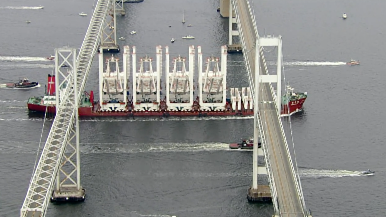 Special delivery at the Port of Baltimore
