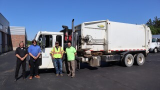 Waste Management company steps in to help local students get real-world experience