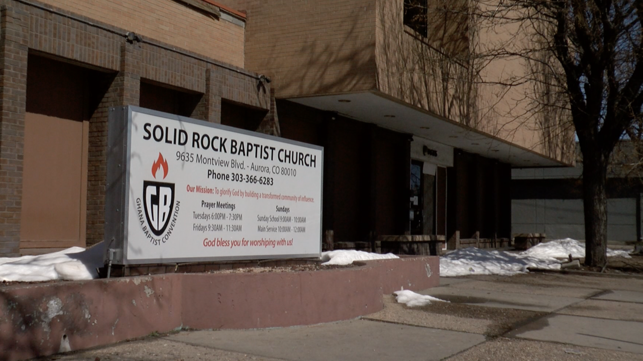 Solid Rock Baptist Church in Aurora will administer 800 vaccines on Saturday