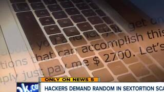 Sexploitation scam startles people after stolen passwords appear on emails
