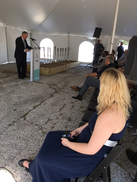 PHOTOS: Groundbreaking for new Bottleworks District in Indy