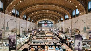 West Side Market. Courtesy of Unplash.com