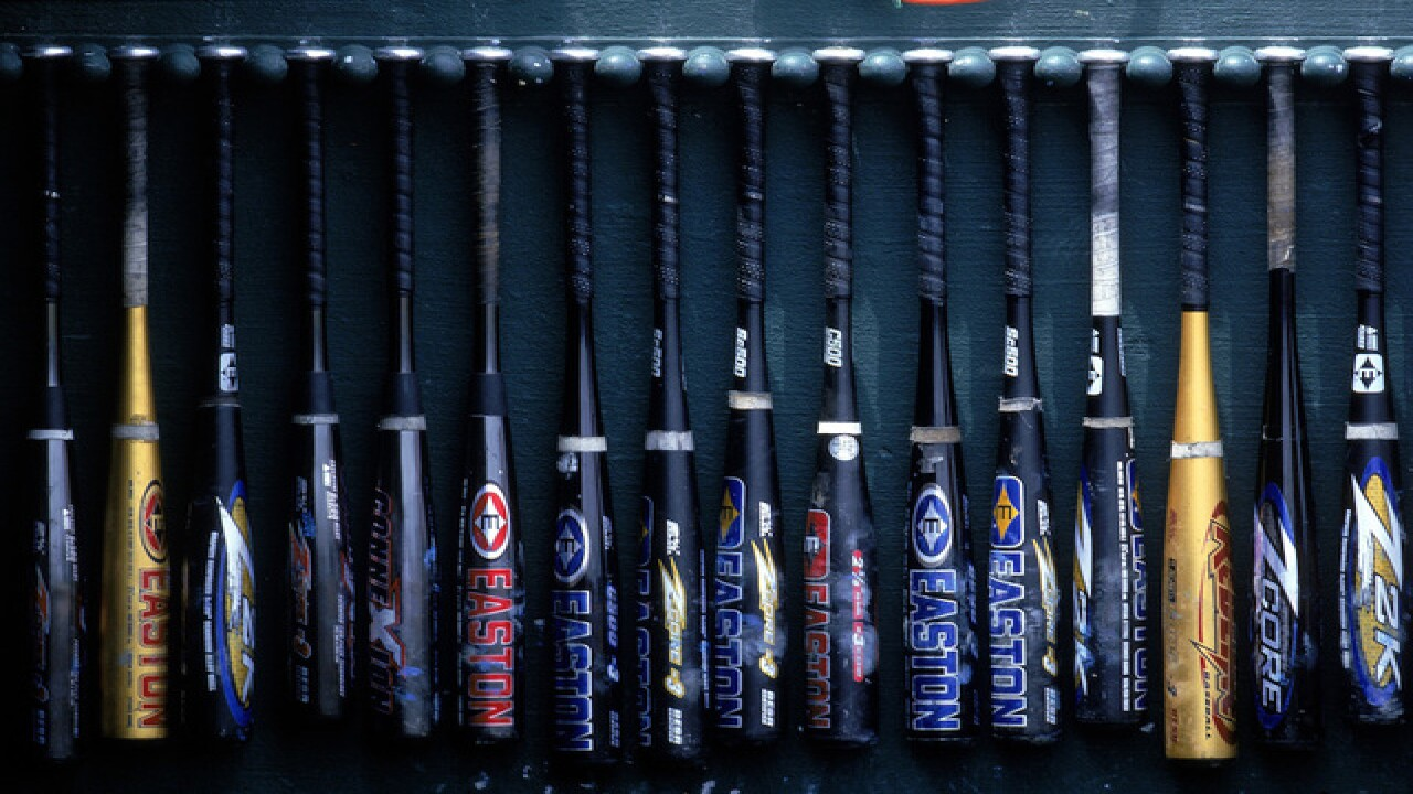 Equipment counts at the College World Series