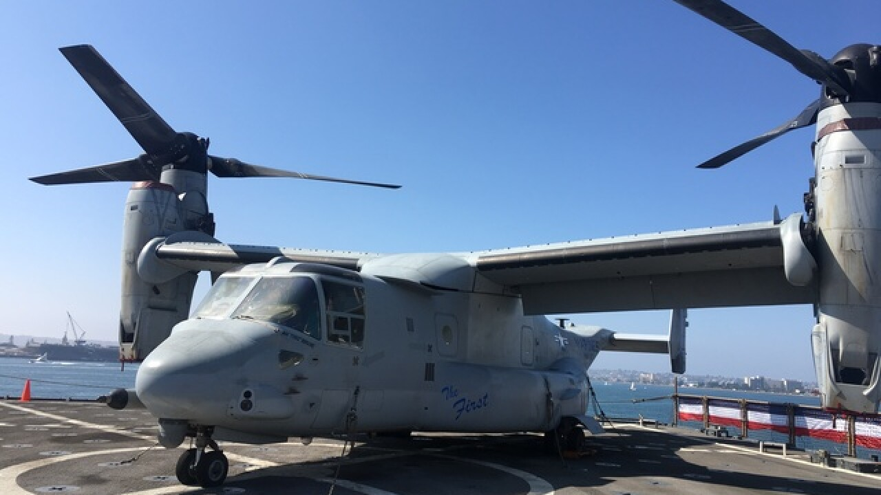 Osprey updates increase safety for military