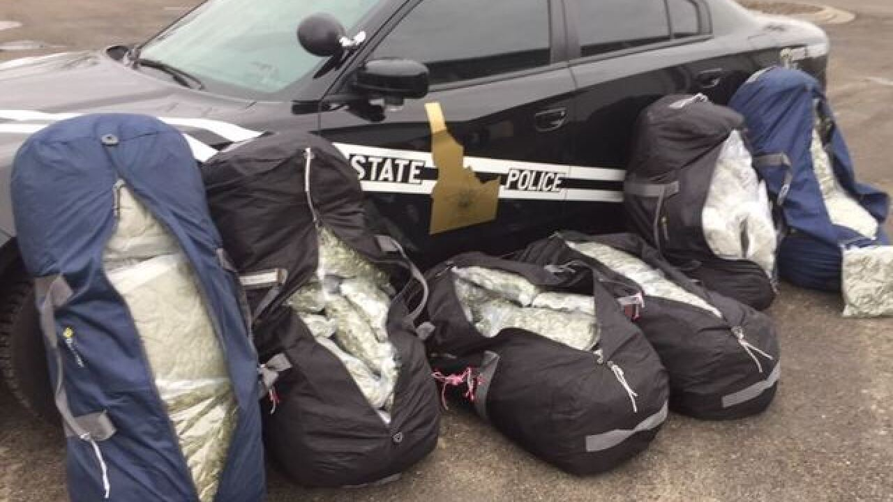 ISP: Three arrested in two days for pot trafficking