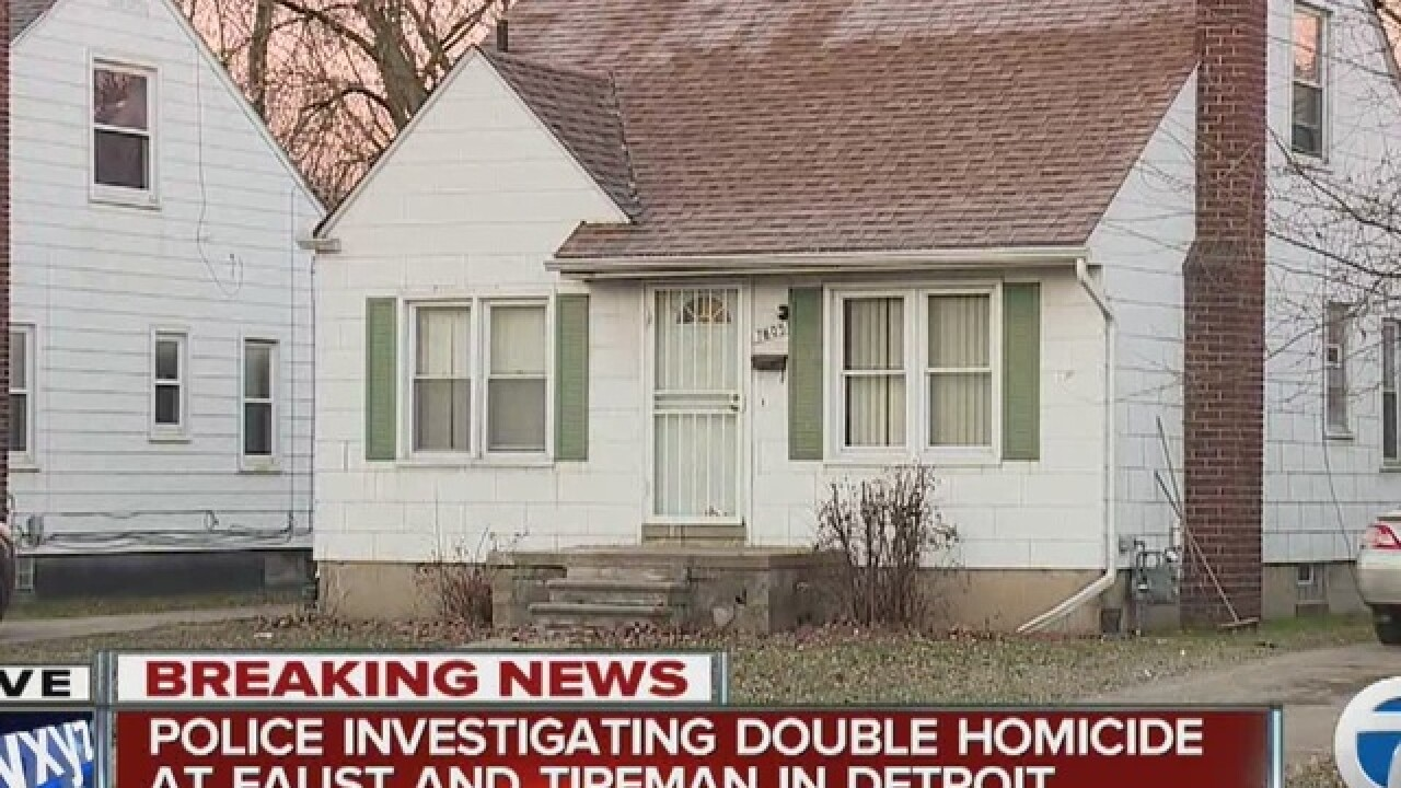 Father and son murdered in Detroit