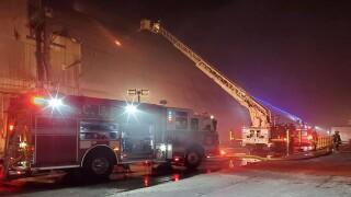 Amalgamated Sugar Factory Fire
