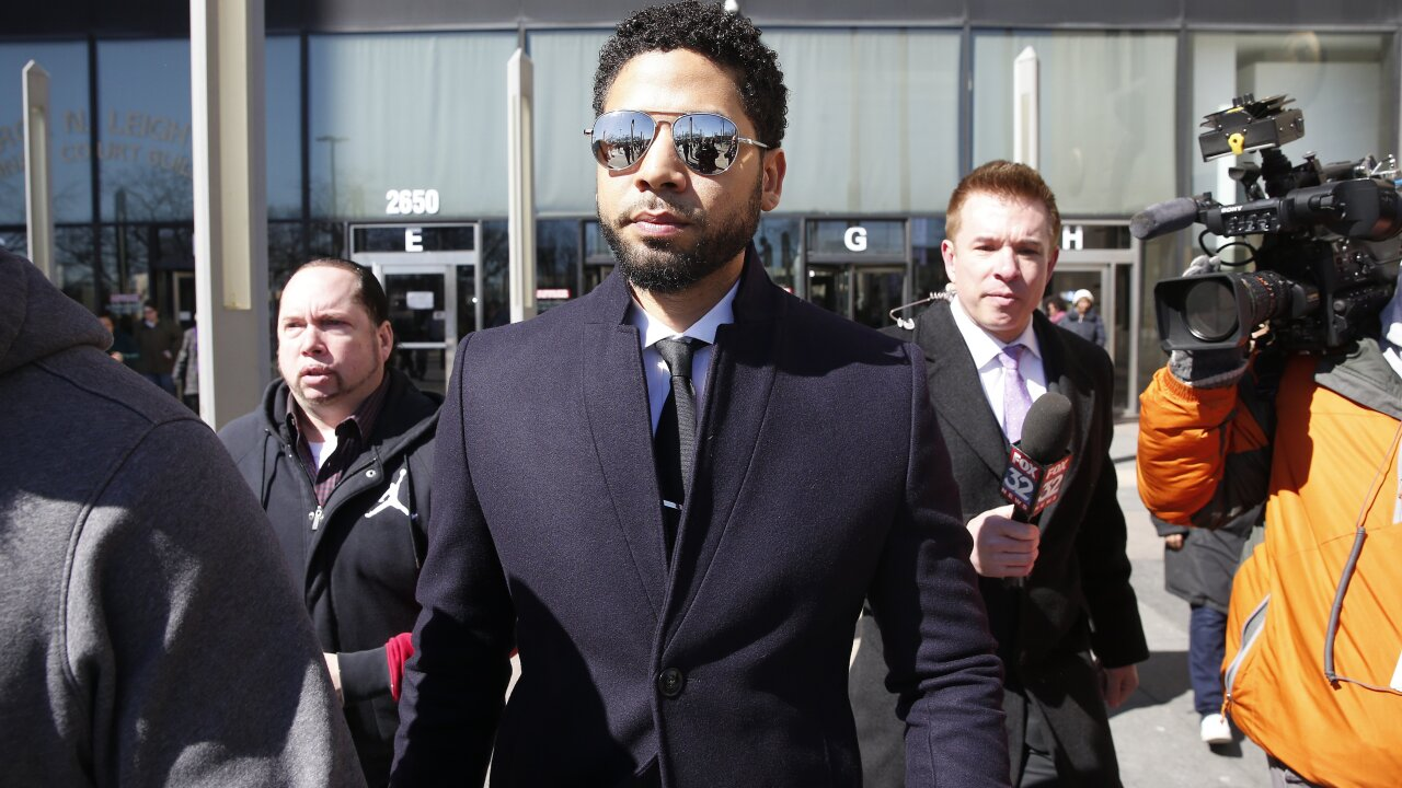 Trump says feds will review Jussie Smollett case after local charges were dropped