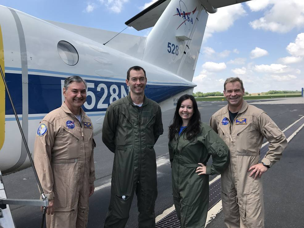 Laura Judd Lake Michigan ozone flight