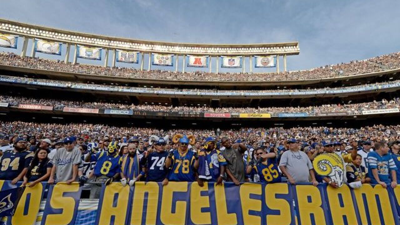 About 160 treated for heat-related illnesses during Rams game
