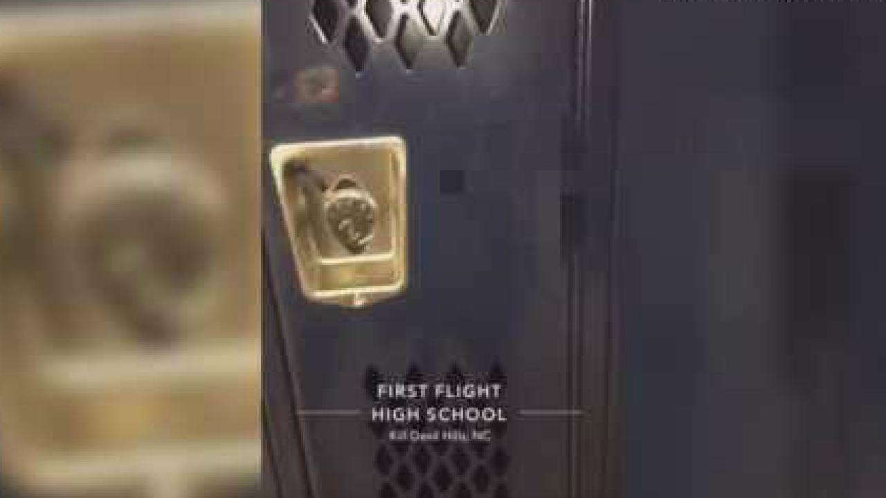 Racial slurs found in boys locker room at Dare Countyschool
