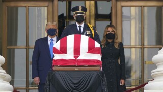 President and First Lady to pay respects to Justice Ginsburg