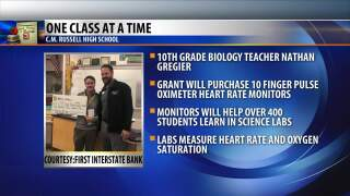 One Class At A Time: Nathan Gregier