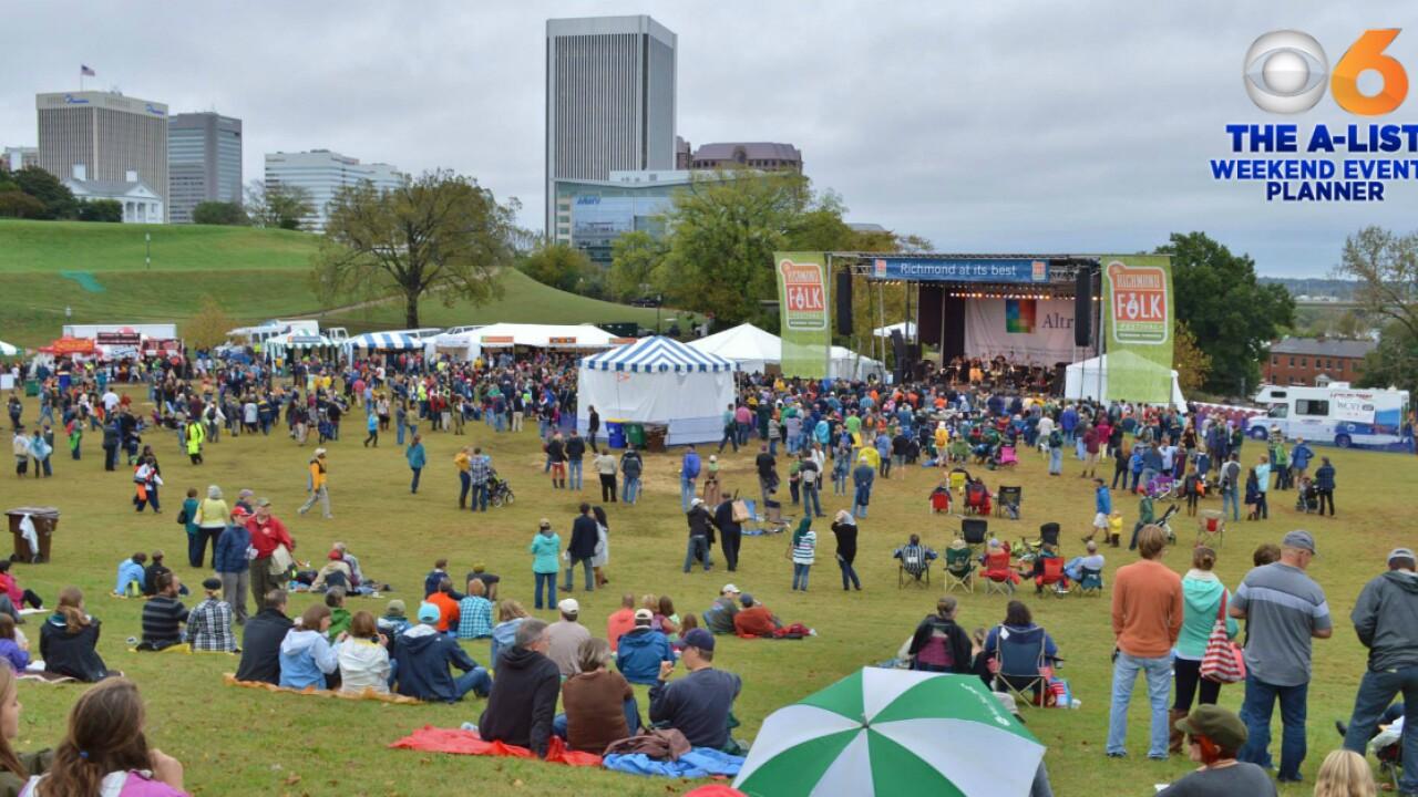 🏠Weekend Events: Richmond Home Show, Folk Festival, Mac & Cheese Festival andmore