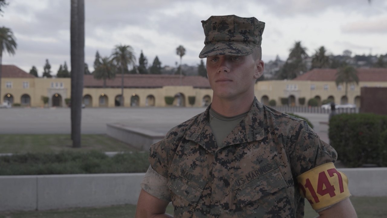 Brendan Bialy stopped a school shooter in Colorado when he was a student. Now, he's a US Marine