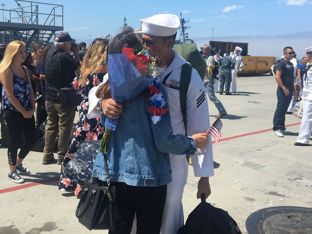 PHOTOS: USS Dewey returns to San Diego