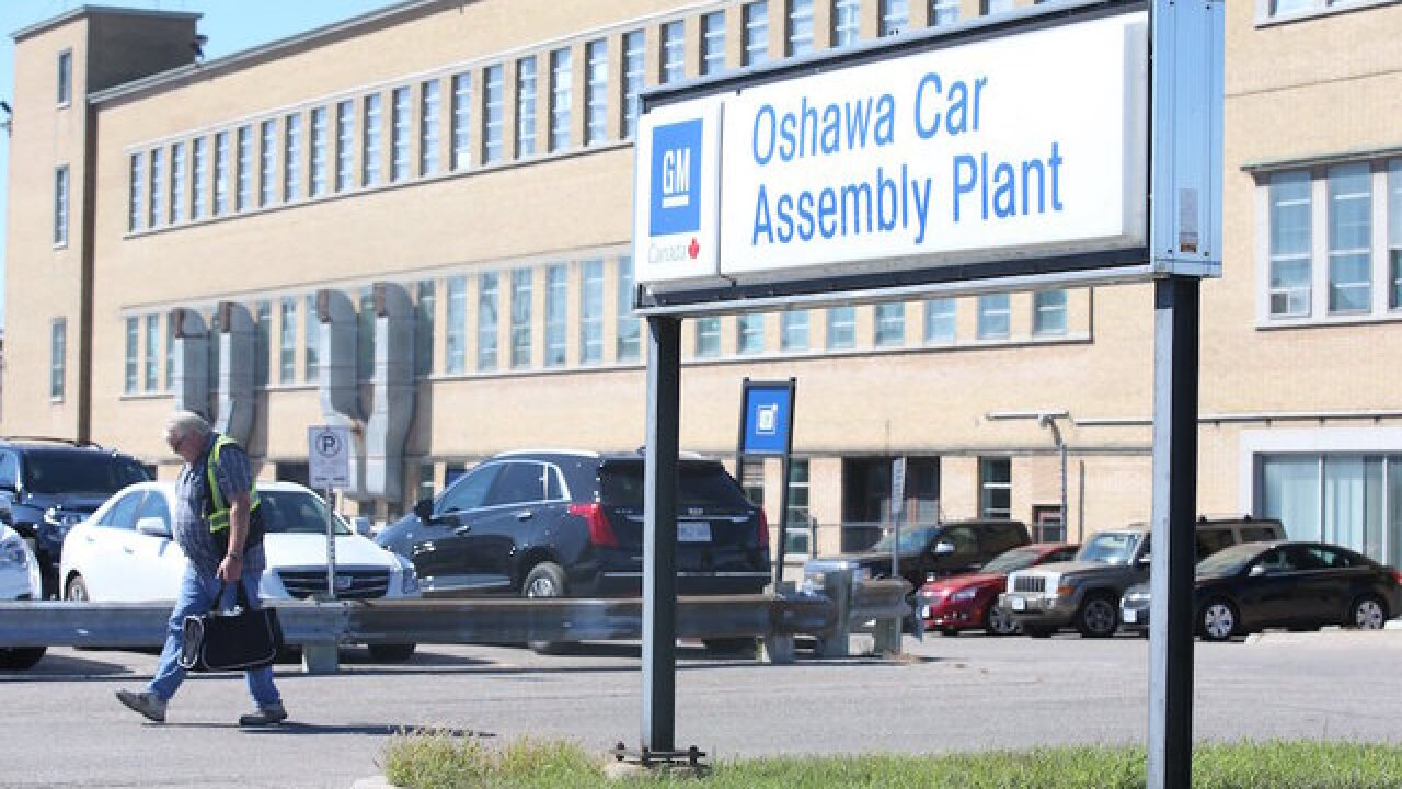 GM to stop production of 6 vehicles, close 5 factories and eliminate jobs