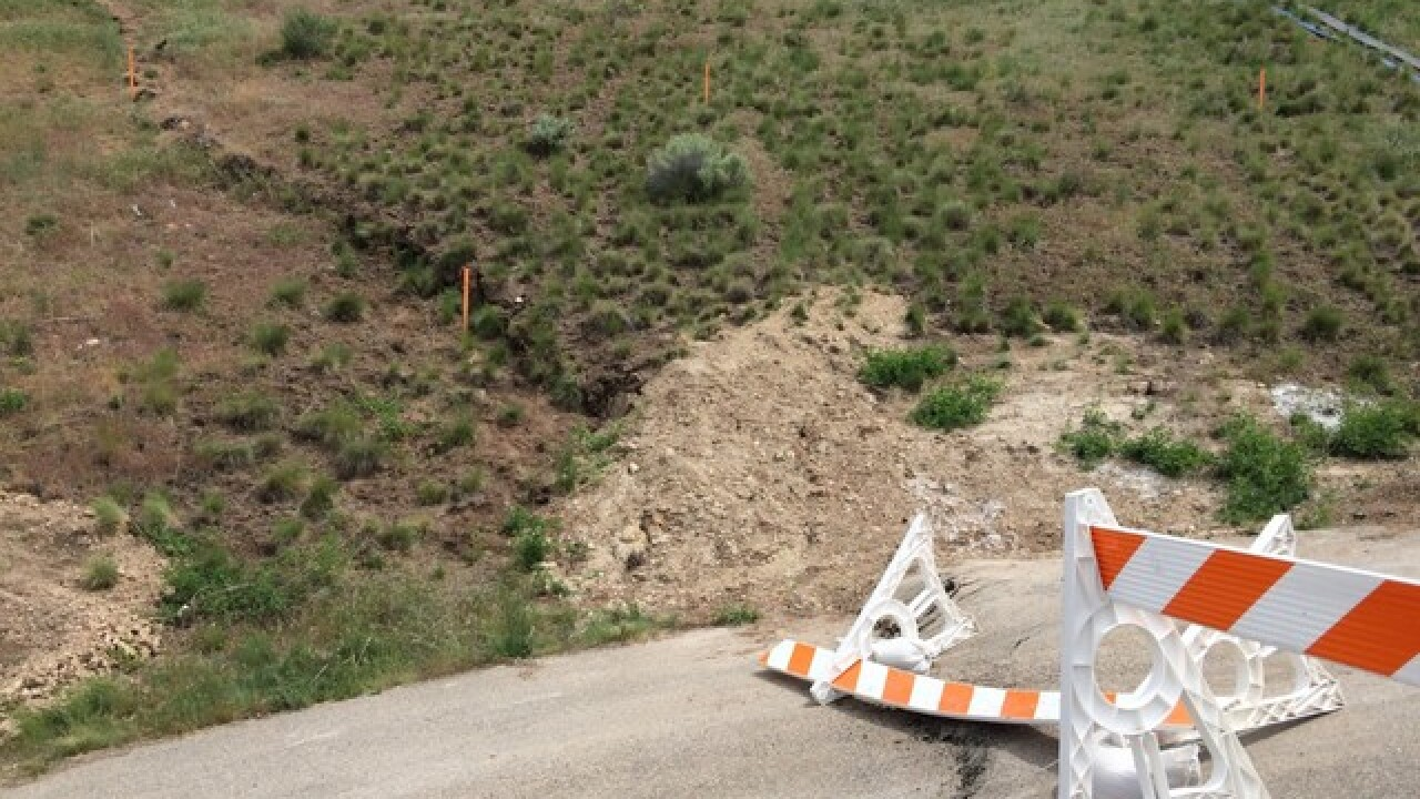 ACHD to close streets due to landslide risk