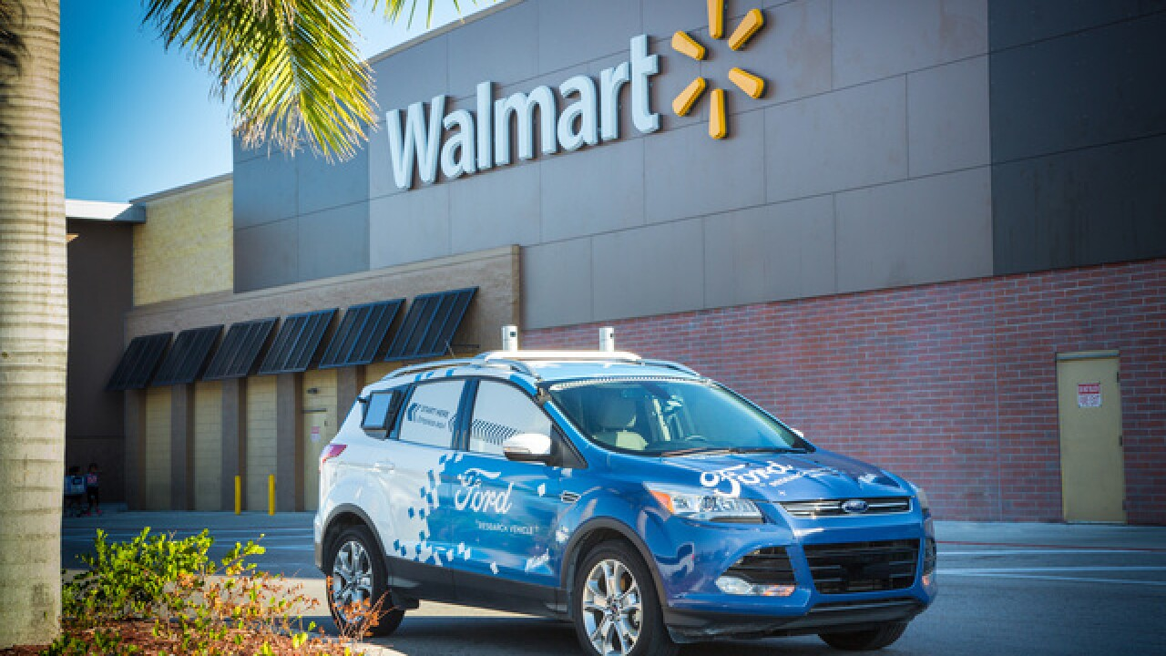 Ford, Walmart team up to explore self-driving delivery service