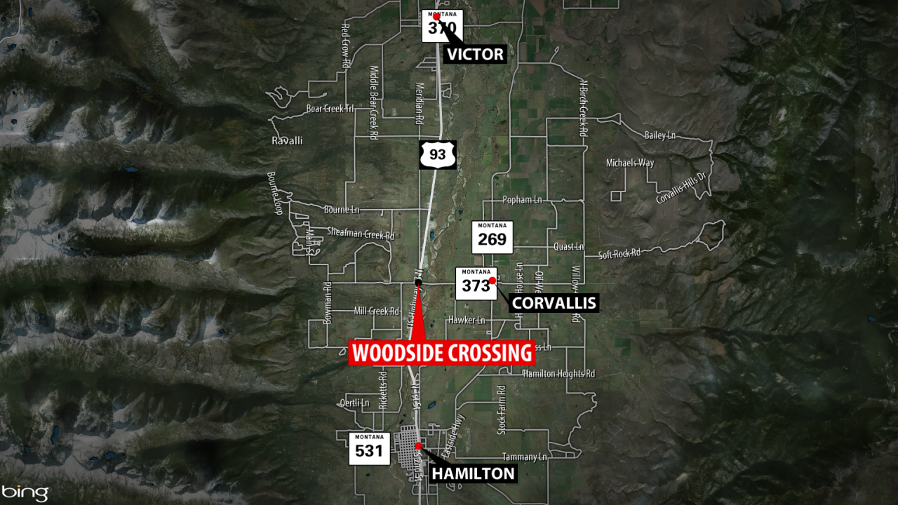 Law enforcement seeking vehicle involved in Ravalli Co. hit-and-run