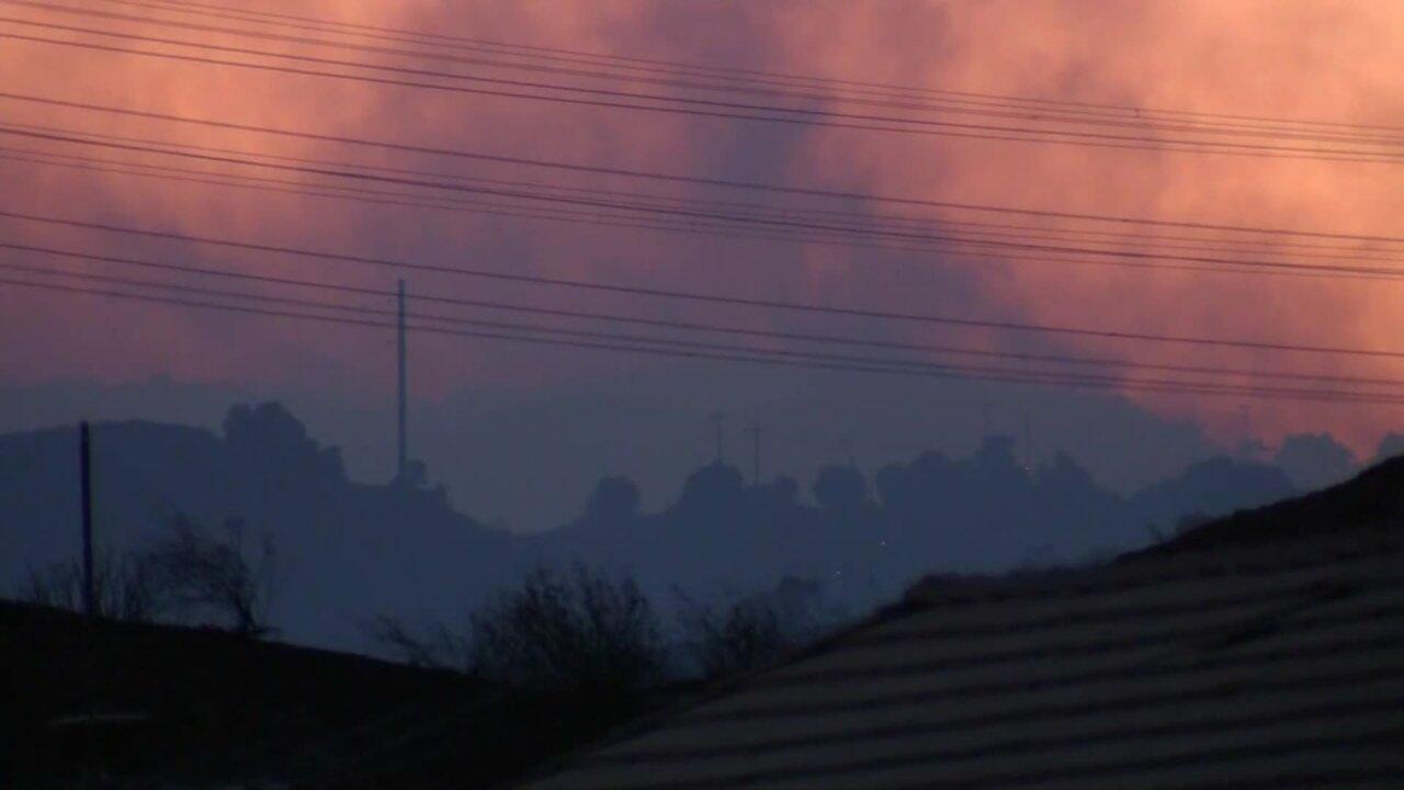 Raging CA fires
