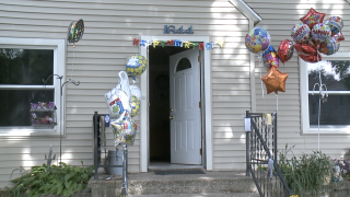 Grand Rapids neighborhood shows wave of support for young man's birthday