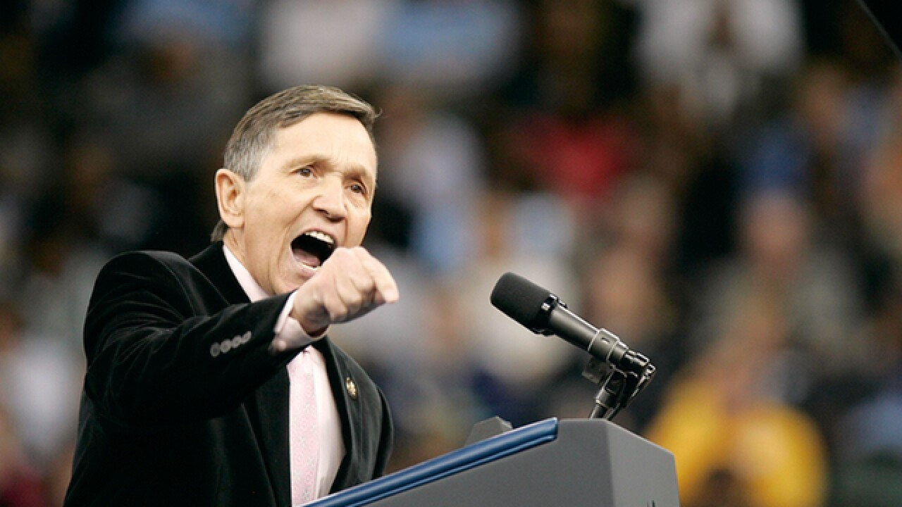 Dennis Kucinich files paperwork to run for Ohio governor