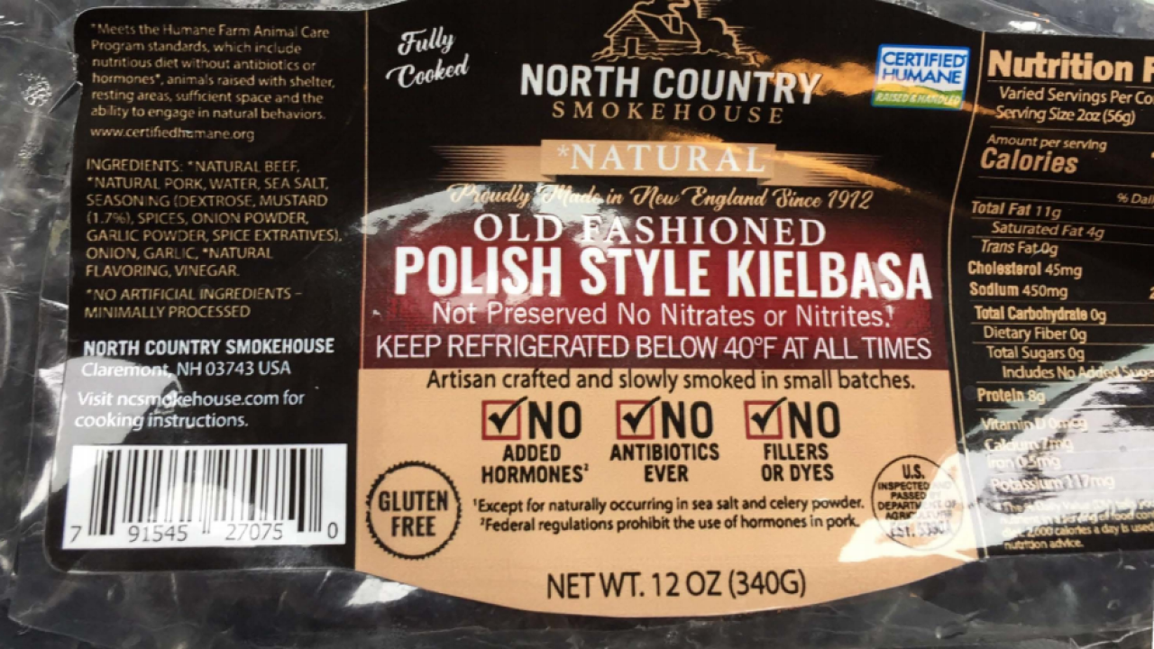 Ready-to-eat sausage products recalled due to possible contamination with metal pieces
