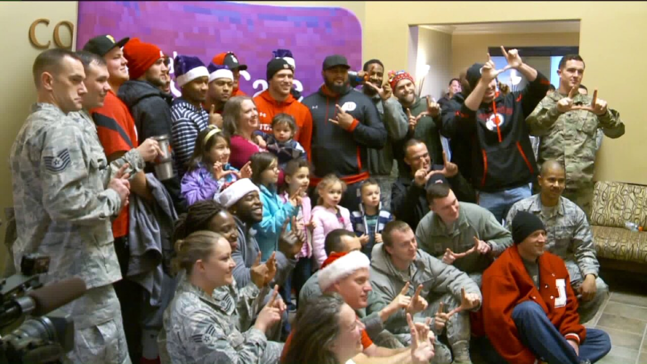 'Santa's Brigade' delivers holiday cheer to 300 kids in foster care