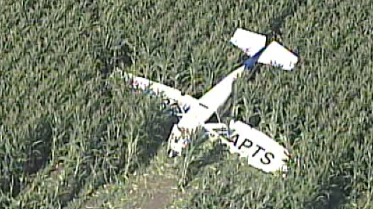 Two injured in small plane crash in Jackson County