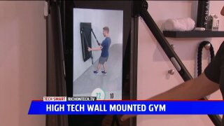 Tech Smart: Digital workout wall unit
