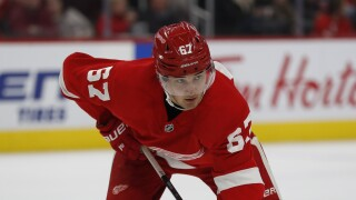 Red Wings recall Hirose and Lindstrom, place Nielsen & Green on IR