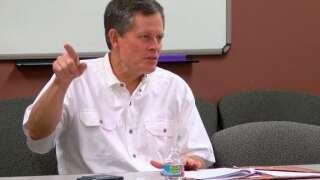 Senator Daines discusses new defense bill