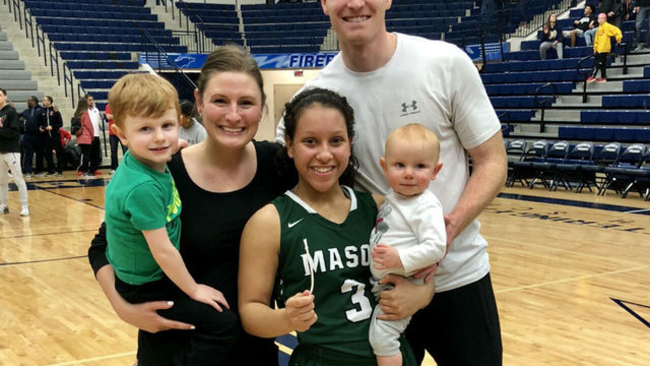 Junior point guard Sade Tucker finds new family, faith, love in Mason