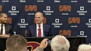 The Cleveland Cavaliers introduce John Beilein as the new head coach.