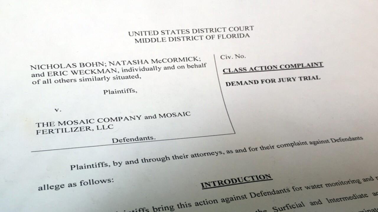 SINKHOLE: Major lawsuit filed against Mosaic