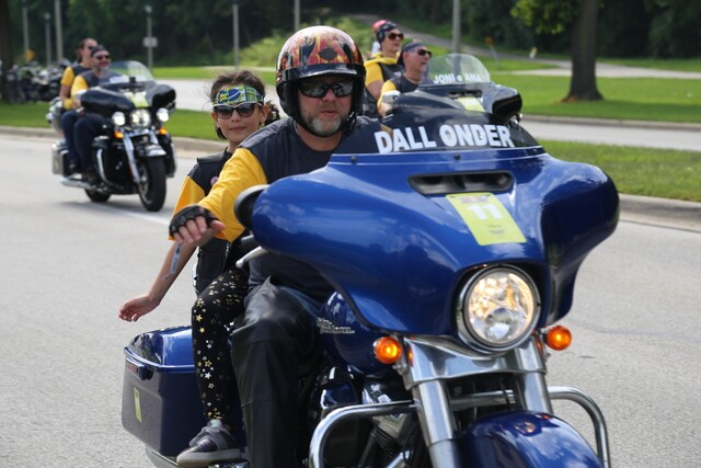 Welcome home, riders! Harley-Davidson 115th anniversary parade
