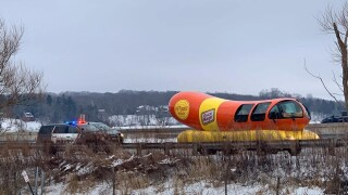 Driver of Oscar Mayer Weinermobile pulled over in Wisconsin