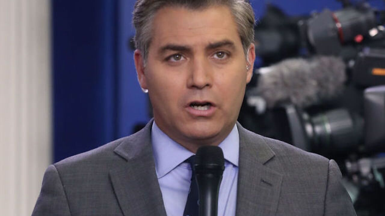 CNN reporter Jim Acosta has credential revoked after heated exchange with president