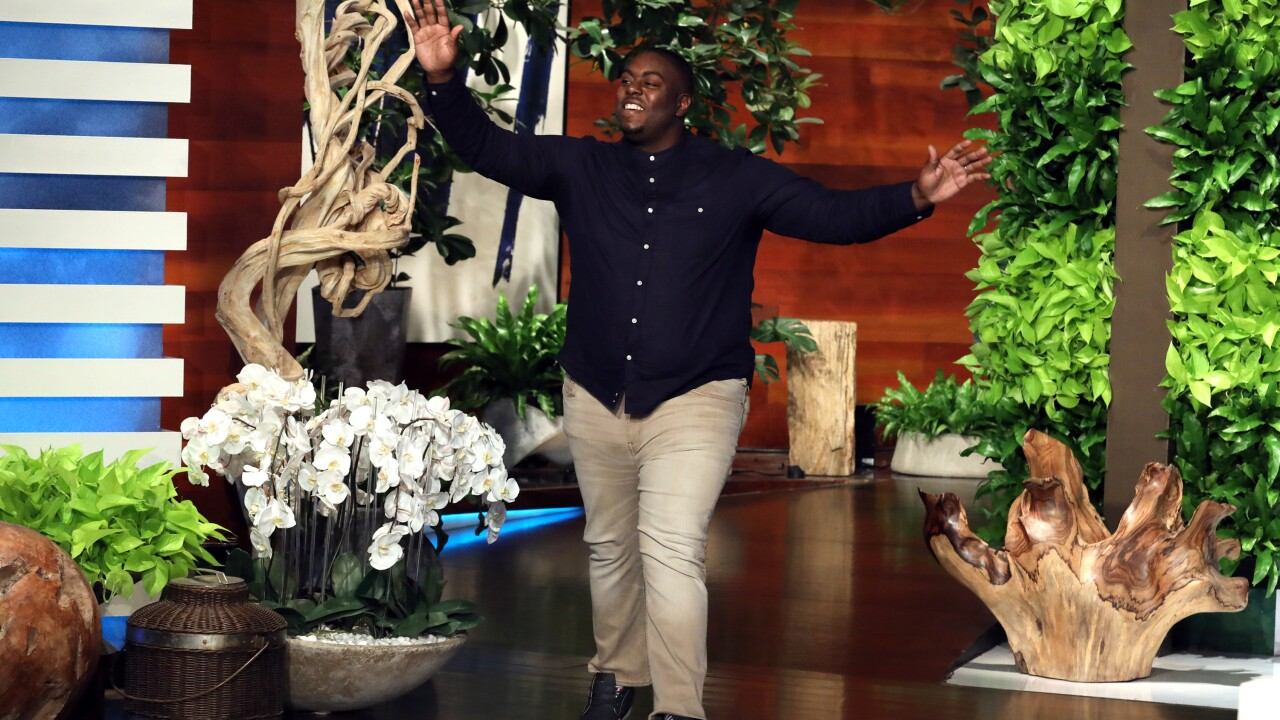 Ellen surprises Richmond teacher who cut students hair before graduation