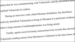 Man sentenced for trafficking meth in Montana