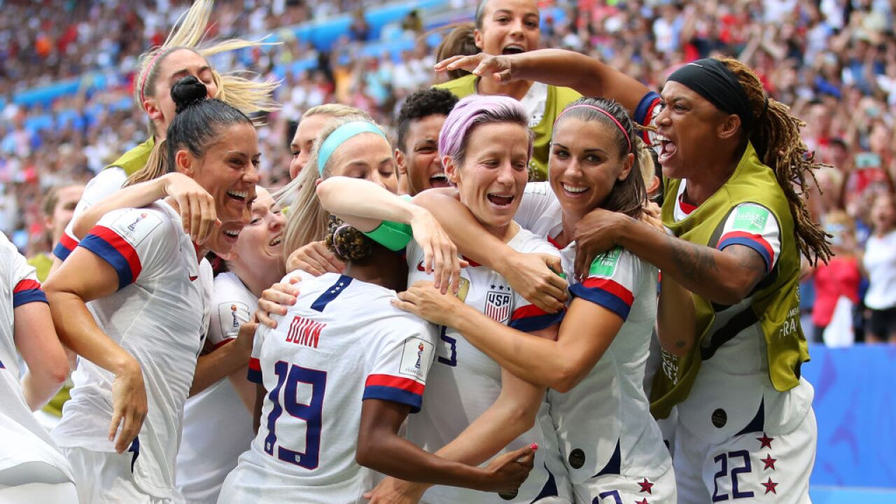 US women's soccer team will be celebrated in a ticker tape parade in New York