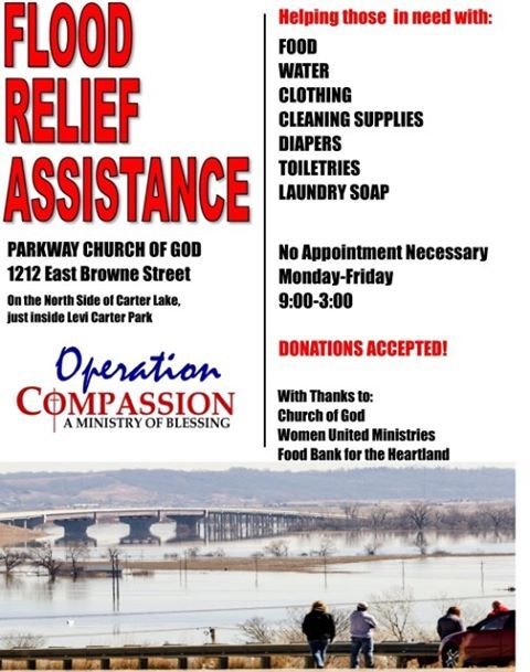 Parkway Church of God - Flood Relief Assistance