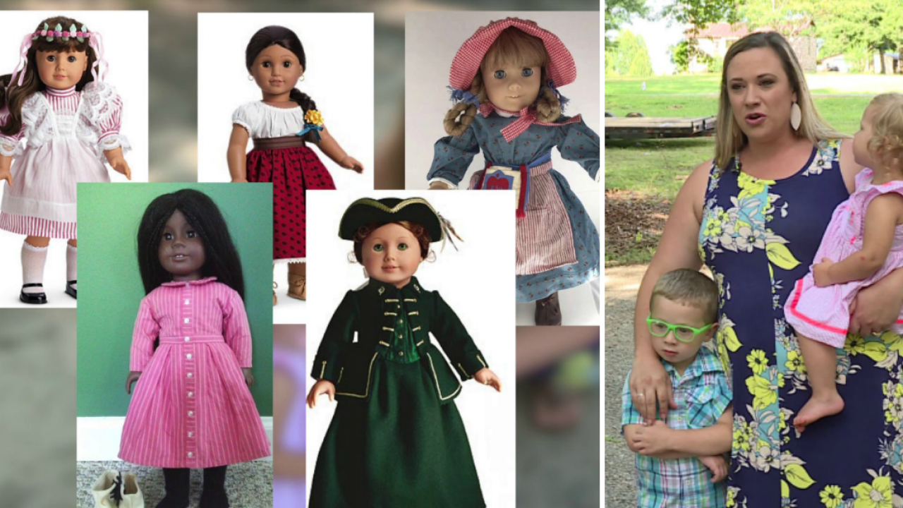 Mom devastated after husband sells American Girl Dolls at yardsale