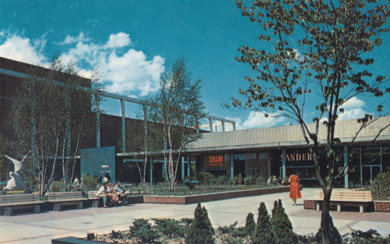 Historic photo of the the old Northland Shopping Center. Courtesy: Contour Companies